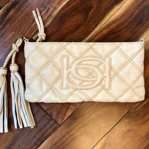 🆕 Bebe quilted clutch NWOT